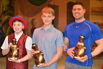 2017 PHIL trophy Winners - Sean Petric, Zak McAllister, Cameron Ritter